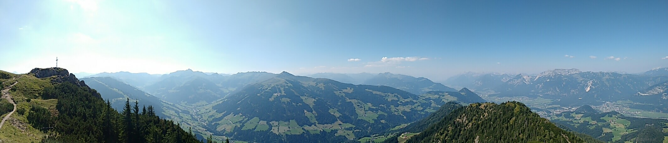 Blick ins Alpbachtal in Tirol