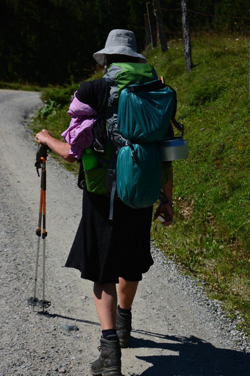 Eva geht zur Mama nach Brixlegg