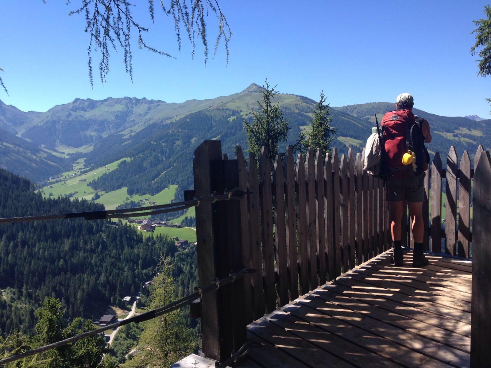 Blick nach Inneralpbach